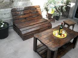 pallet wood outdoor furniture set 99 pallets