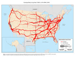 Truck Routes 2040 By US DOT #map #usa #freight | Cartography | Map ...