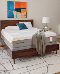 Split King Adjustable Bed Sheets by Tempur Pedic Mattresses Macy U0027s