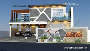 100 Dream Home Design Usa A House Plan 3D Front Elevation