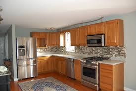 Cabinet Refinishing Tampa Bay by Resurface Cabinets Marietta Rustic Maple Refacing Cabinet Project