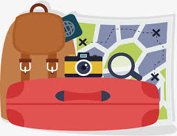 Travel Package Vector Png Pack Packing Luggage Free PNG And