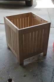 ana white build a simple white outdoor end table free and easy diy