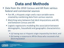 bureau of census and statistics exploring administrative records use for race and hispanic origin