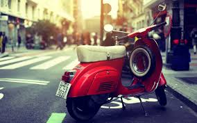 Old Scooter Vespa Wallpaper Hd Widescreen