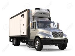 100 Refrigerator For Truck Silver Trailer Beauty Shot Stock Photo Picture