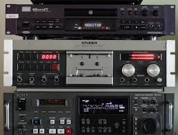 Nakamichi Tape Deck 2 by Studer A710 Cassette Deck And Sony Pcm 7050 Professional Dat