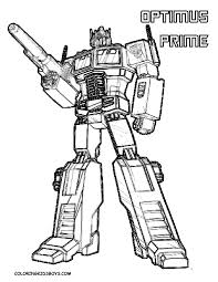 Transformers Printable Coloring Pages With