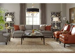 Bernhardt Foster Leather Sofa by Living Room Lancaster Leather Chair