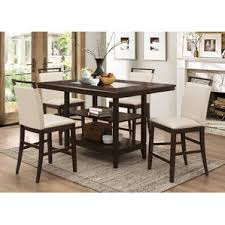 Wayfair Kitchen Table Sets by Counter High Table Set New Counter Height Dining Sets You Ll Love