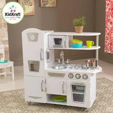combiné cuisine kidkraft combiné de cuisine rétro blanc 53208