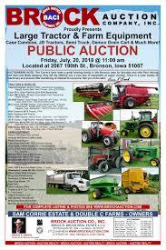 100 Semi Trucks Auctions Sam Corrie Estate Double C Farms Auction Brock Auction