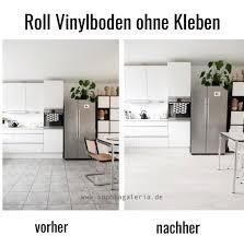 Küche Boden Verlegen Neuer Vinyl Küchenboden Ausrollen Fertig Sophiagaleria