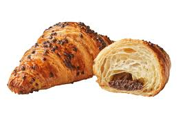 Gourmet Chocolate Hazelnut Filled Croissants 12 X 90 G