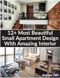 100 Small Apartments Interior Design 12 Most Beautiful Apartment With Amazing