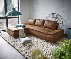 ecksofa braun mit schlaffunktion klassische möbel zu