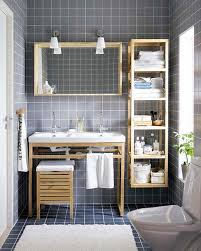 exquisite bathrooms that make use of open storage delightful