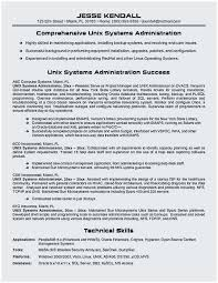 Sample Resume For Experienced Linux System Administrator Popular Administration 7