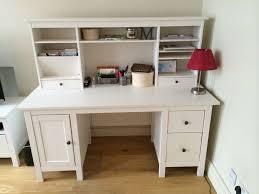 Ikea Hemnes Desk Uk by Ikea Hemnes Desk With Ikea Hemnes Add On Unit In Hammersmith