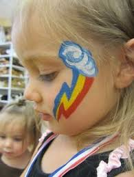 Easy Rainbow Dash Pumpkin Stencil by Rainbow Dash Cutie Mark Face Paint Face Paintings For Kids