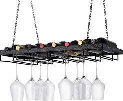 100 Glass Racks For Trucks Amazoncom Wine Enthusiast Metal Hanging Wine Rack Floating