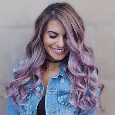 Hair Color Trends For Spring Summer 2017 Purple Brown