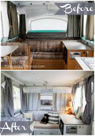 Excellent Delightful Camper Remodel Ideas Best 25 Pop Up Trailer On Pinterest Popup