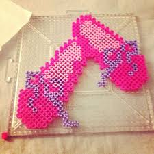 Ballet Shoes Perler Beads By Crzymothatruka