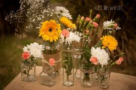Affordable Wedding Table Centrepieces