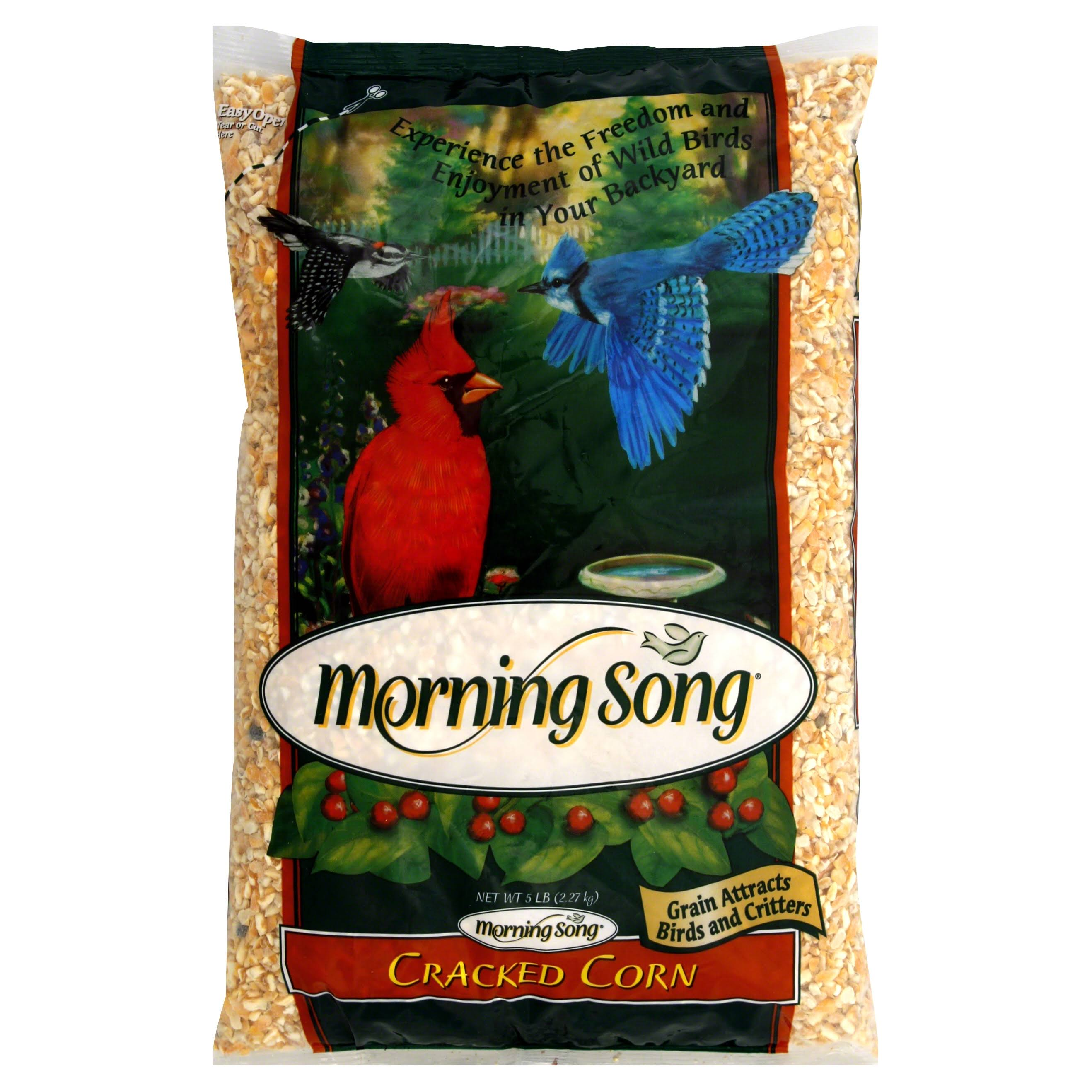 Morning Song Cracked Corn - 5 lb