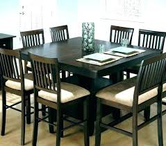 Tall Dining Room Cabinet Perfect Set Counter Height Table Furniture Chair And