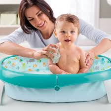 Inflatable Bathtub For Toddlers by Summer Infant Easystore Comfort Tub Neutral Toys