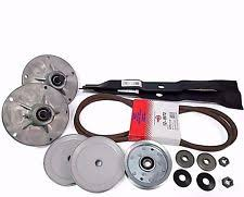 murray 425017x190a 552548 42 mower deck parts kit spindles blades