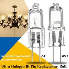 g4 g5 3 5w 10w 20w 35w 50w halogen light l replacement bulb