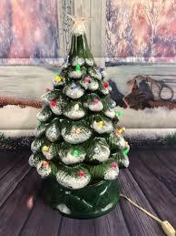 Vintage Christmas Tree Trim N Glow Lighted Ceramic Marica Ceramics Ctl 20