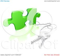 Pice Clipart House Key 3