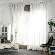 Crushed Voile Curtains Grommet by Voile Sheer Curtains White Voile Sheer Curtains White Sheer