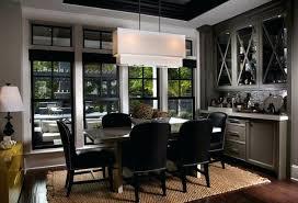 Leach Residence Contemporary Dining Room Bar Ideas Dry