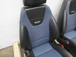 100 Recaro Truck Seats 0407 Saturn Ion Redline Red Line Front Seat Set Pair Black