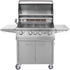 Deluxe Patio Bistro Gas Grill by Lion L75000 32 Inch Stainless Steel Freestanding Propane Gas Grill