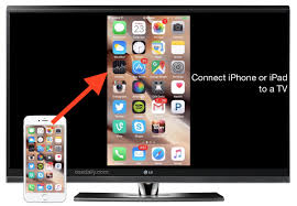 You can easily connect any iPhone iPad or iPod touch to a TV