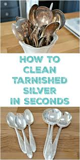 Drano To Clean Bathtub by How To Clean Silver And Remove Tarnish Remove Tarnish Cleaning