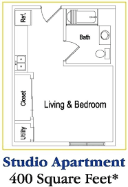 Efficiency Floor Plans Colors Luxury Studio Apartment Floor Plans Small Efficiency Apartment
