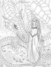 Realistic Mermaid Coloring Pages For Adults PICT 461810