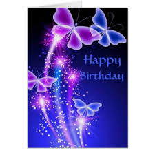 Birthday Cards Butterfly Kisses Card