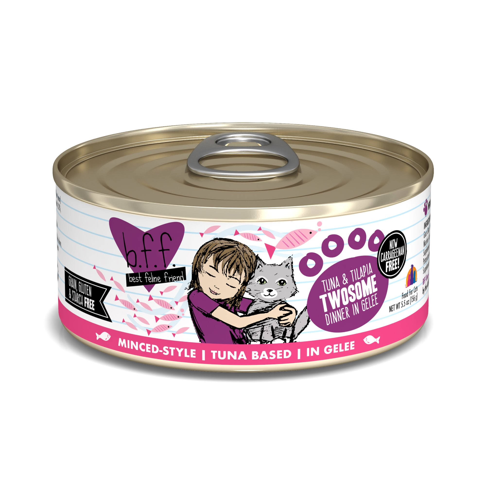 Best Feline Friend Cat Food - Tuna & Tilapia
