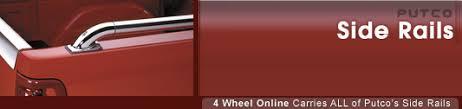 Putco Bed Rails by Putco Truck Bed Rails 4wheelonline Com