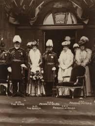 King Edward V11 Chair by Npg X132093 King Edward Vii Queen Alexandra King George V