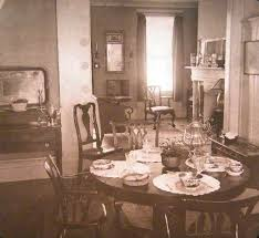 Domestic Art In Brooklyn From A Stereograph By The Keystone View Company Comes This Home Decorating Tip
