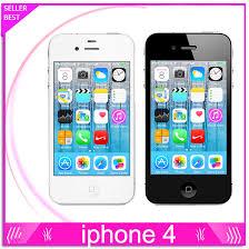 Used 100% Original Apple iPhone 4 Unlocked 16GB 32GB IOS 8